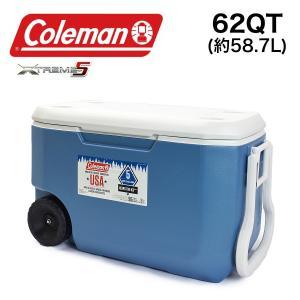 コールマン COLEMAN クーラーボックス ハードクーラー 大容量 58.7L 62QT 3000004025 キャスター付 エクストリーム ホイールクーラー|being-yah