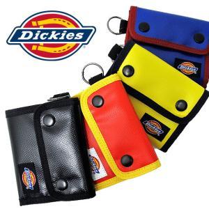 【メール便配送】Dickies ディッキーズ 財布 DS001EN PVC ウォレット PVC WALLET 折りたたみ財布|being-yah