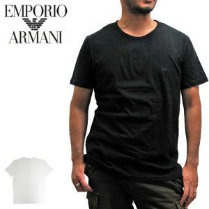 【メール便配送】EMPORIO ARMANI エンポリオアルマーニ 110821 CREW-NECK TEE クルーネック Tシャツ|being-yah
