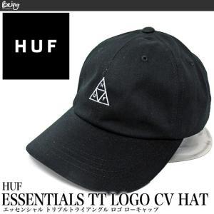 【メール便配送】ハフ キャップ HUF エッセンシャル トリプルトライアングル ロゴ ローキャップ HT00346 帽子|being-yah