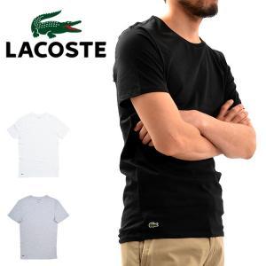 【メール便配送】LACOSTE ラコステ メンズ クルーネック半袖スリムフィットTシャツ TH3321|being-yah