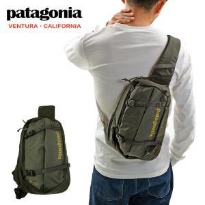 パタゴニア アトム スリング 8L PATAGONIA ATOM SLING 8L FORT ボディーバッグ グリーン being-yah
