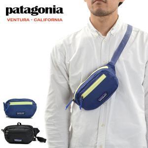 【メール便配送】パタゴニア ウエストポーチ ボディーバック PATAGONIA ULTRALIGHT BLACK HOLE MINI HIP PACK 1L|being-yah