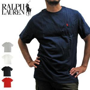 【メール便配送】POLO RALPH LAUREN ポロラルフローレン 674984 ONEPOINT CREW S/S TEE ワンポイント クルーネック 半袖Tシャツ|being-yah