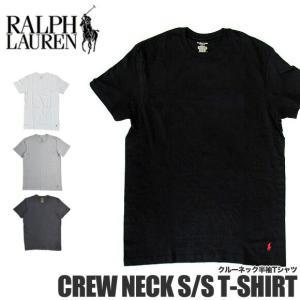【メール便配送】ラルフローレン Tシャツ 半袖 クルーネック RL65 POLO Ralph Lauren ワンポイント 半袖Tシャツ|being-yah