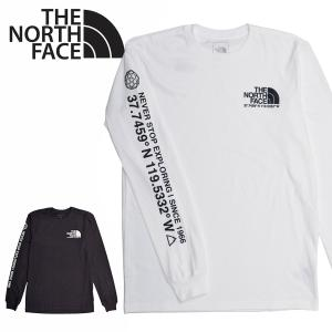 送料無料 【メール便配送】THE NORTH FACE ノースフェイス ロンT MENS CORDINATES L/S TEE 長袖Tシャツ NF0A55VC|being-yah