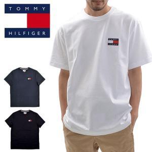 送料無料 【メール便配送】TOMMY HILFIGER トミーヒルフィガー 78F0203 半袖Tシャツ TJ ALBIE BADGE being-yah