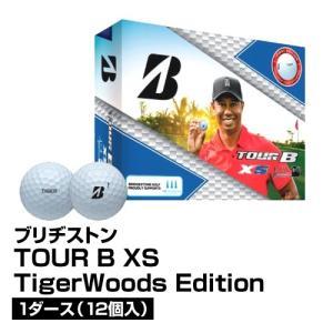 ゴルフボール BRIDGESTONE ブリヂストン TOUR B XS Tiger Woods Edition 1ダース 12個入_0760778085028_91|beisia