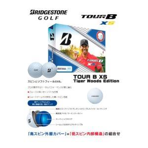 ゴルフボール BRIDGESTONE ブリヂストン TOUR B XS Tiger Woods Edition 1ダース 12個入_0760778085028_91|beisia|03