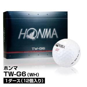 ゴルフボール HONMA ホンマ TW-G6 1ダース 12個入 WH ホワイト_4549152615657_91 beisia