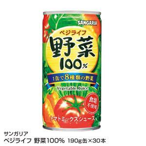 サンガリア おいしい野菜100% 190g×30本【1本あたり39円】_4902179010544_74
