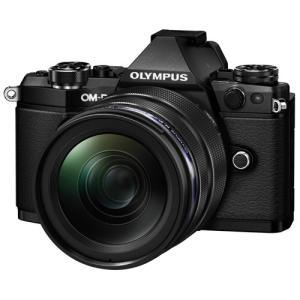 オリンパス デジタル一眼レフカメラ OM-D-E5Mark2 12-40mmレンズキット ブラック色