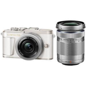 新品 オリンパス ミラーレス一眼レフカメラ PEN E-PL9 EZダブルズームキット ホワイト O...
