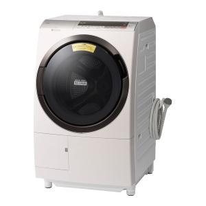 ドラム式洗濯乾燥機 11kg 左開き ビッグドラム ロゼシャンパン 日立 BD-SX110CL