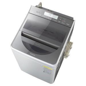 縦型洗濯乾燥機 洗濯12kg 乾燥6kg 温水泡洗浄W シルバー パナソニック NA-FW120V2