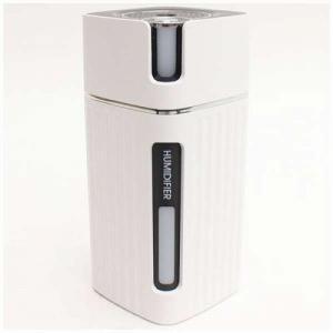 加湿器 DLJSQ19038-2 ピラー型USB充電式 ミニ加湿器 コンパクトサイズ ホワイト|beisiadenki