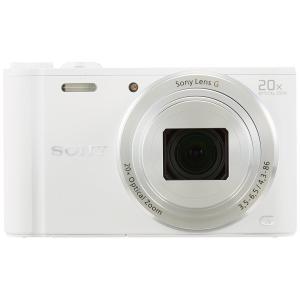 DSC-WX350-WC ソニー SONY デジタルカメラ Cyber-shot WX350 光学20倍 ホワイトの商品画像|ナビ