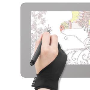 エレコム 液晶ペンタブレット用グローブ/Mサイズ TB-GV1M