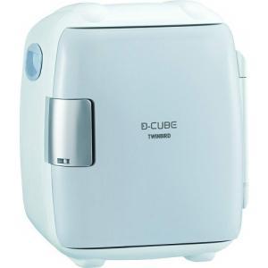 ツインバード 2電源式コンパクト 電子保冷保温 ボックス D-CUBE S グレー HR-DB06GY|beisiadenki