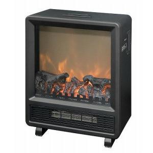 在庫処分 暖炉型ヒーター ブラック 山善 YDH-J10|beisiadenki
