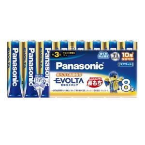 パナソニック Panasonic EVOLTA 単3形アルカリ乾電池 8本パック LR6EJ/8SW 台風 防災グッズ|beisiadenki