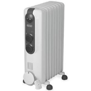 オイルヒーター 8畳〜10畳 ピュアホワイト+ダークグレイ デロンギ RHJ35M0812|beisiadenki
