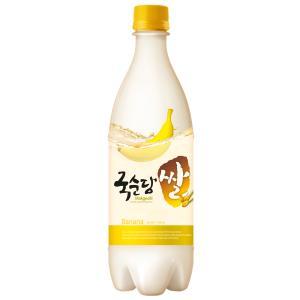 麹醇堂米マッコリバナナ 3本セット【韓国/麹醇堂(クッスンダン)/バナナマッコリ】|bekseju