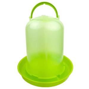 【チャボ ウコッケイ】鳥用自動給水器 容量10L(緑スケルトン)【ニワトリ キジ類用】|belbird