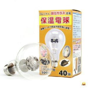 アサヒ ヒヨコ保温電球 硬質ガラス 40W|belbird