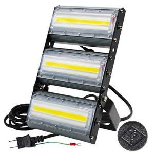 LED投光器,LED作業灯,150W 2000W相当 COBチップ 21000LM 240度 看板灯 街路灯 駐車場灯 昼光色 防水 3mコ belem-code