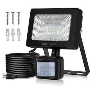 MEIKEE センサーライト 改良版 屋外 人感センサー 防犯 ライト 20w 6500K 2000LM 投光器 PIR屋外センサー フラッ belem-code