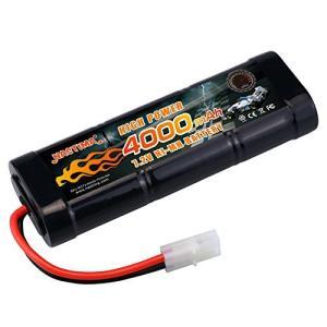 NASTIMA 7.2v ニッケル水素バッテリー 超大真の容量4000mAh ラジコン バッテリー 多種類のRCカー用 タミヤコネクター付き|belem-code