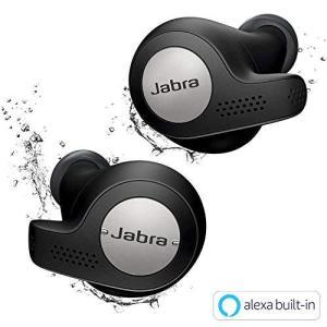 Jabra 完全ワイヤレスイヤホン Elite Active 65t チタンブラック Alexa対応 BT5.0 マイク付 防塵防水IP56 belem-code