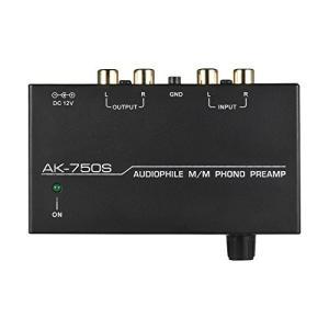 Muslady フォノプリアンプ オーディオファイルM/M レベルコントロール RCA入出力インターフェース付き|belem-code
