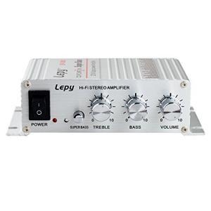 Lepy Hi-Fi ステレオアンプ デジタルアンプ カー アンプ パワーアンプLP-268 LP-268|belem-code
