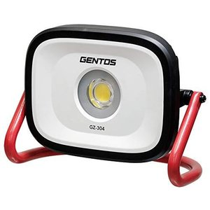 GENTOS(ジェントス) 投光器 LED ワークライト 充電式 AC電源兼用 明るさ4000ルーメン/実用点灯2時間/耐塵/防滴 ガンツ|belem-code