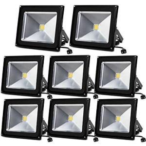 〈まとめ買い〉LED 投光器 50W 500W相当 昼光色 高輝度チップ搭載 4300LM AC85~265V led フラッドライト 広角|belem-code