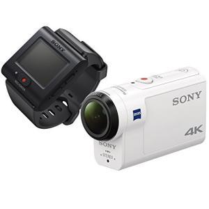 ソニー ウエアラブルカメラ アクションカム 4K+空間光学ブレ補正搭載モデル(FDR-X3000R) ライブビューリモコンキット belem-code