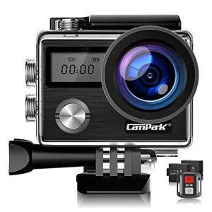 Campark X20C アクションカメラ 4K高画質 2000万画素 HDMI出力 40M防水 WiFi搭載 170度広角レンズ belem-code