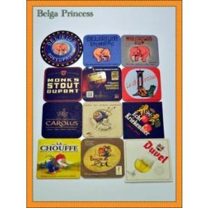 ベルギービール専用のコースターです。デリリウムのシンボルである人気のピンクのぞうさんのコースター3種...