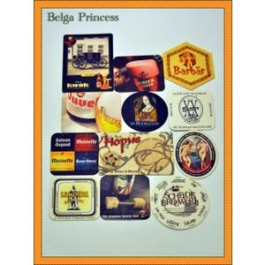 ベルギービール専用のコースターです。 ムグビターやドゥレグリエなど伝統的な醸造方法に取り組むスヘルデ...