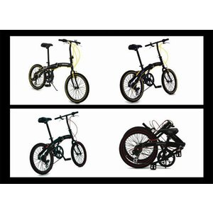 折りたたみ自転車 自転車 20インチ 超軽量 6段変速  アルミフレーム 軽量 WACHSEN Angriff ba100 BA-100【着後レビューで空気入れプレゼント】|belkis|04