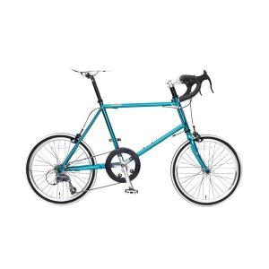 ミニベロ タイヤ 20インチ 自転車 カギ ライト付 スタンドなし 8段変速 OSSO オッソ X410MV-CR|belkisno1
