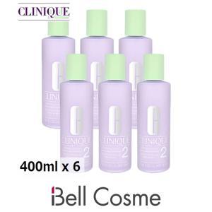 クリニーク クラリファイングローション2  400ml x 6 【仕入れ】 (化粧水)  CLINIQUE 母の日ギフト 母の日プレゼント 早割 人気|bellcosme