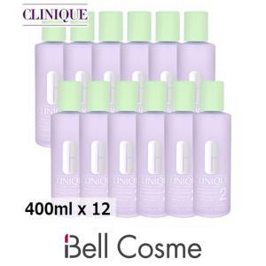 クリニーク クラリファイングローション2  400ml x 12 【仕入れ】 (化粧水)  CLINIQUE 母の日ギフト 母の日プレゼント 早割 人気|bellcosme