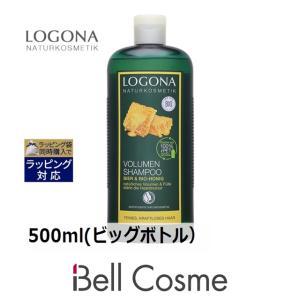 【送料無料】ロゴナ ボリュームシャンプー・ビール&はちみつ  500ml(ビッグボトル) (シャンプー)