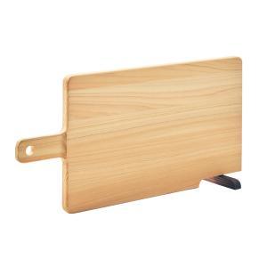 まな板 カッティングボード ひのき 持ち手つき ひのきまな板 おしゃれ コンパクトサイズ スタンド付...