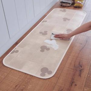ディズニー 拭けるキッチンマット 「約45×240」の写真