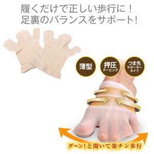 カサハラ式 3股テーピング靴下