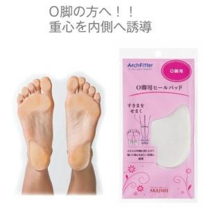 アーチフィッター O脚用ヒールパッド...